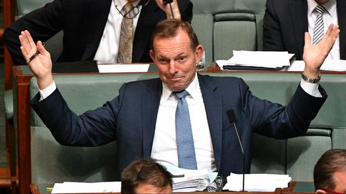 Former prime minister Tony Abbott has hit out at leaks to reporters.