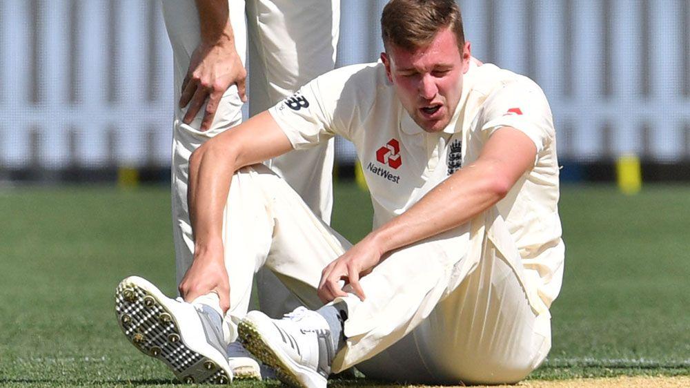 English paceman Ball injured in tour game