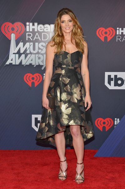 Ashley Greene at the 2018 iHeart Radio Music Awards in Los Angeles