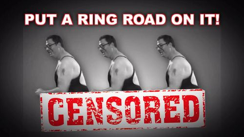 George Christensen has released this alarming video. Picture: Facebook