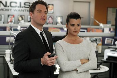 Michael Weatherly and Cote de Pablo on 'NCIS'.