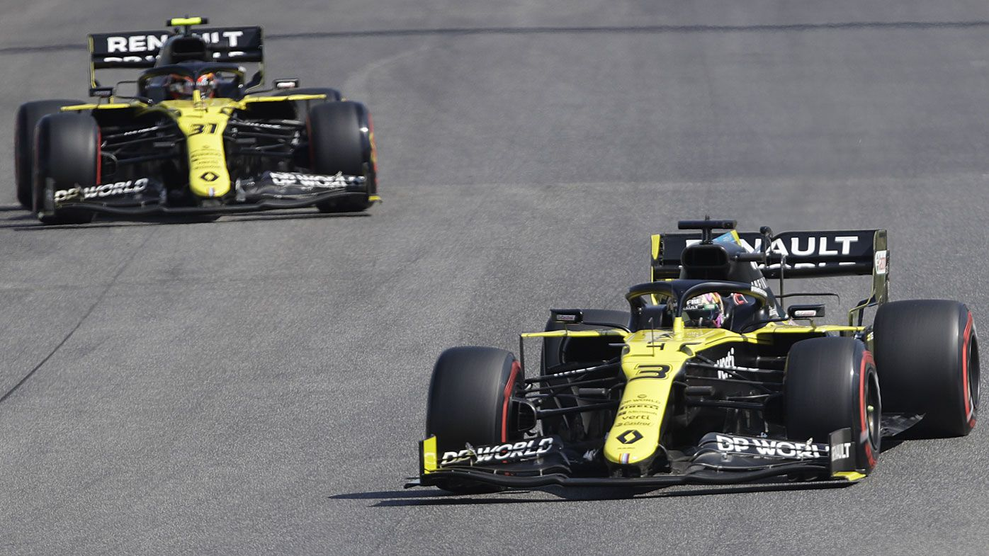 Daniel Ricciardo dominating Renault teammate Esteban Ocon in lopsided F1 rivalry