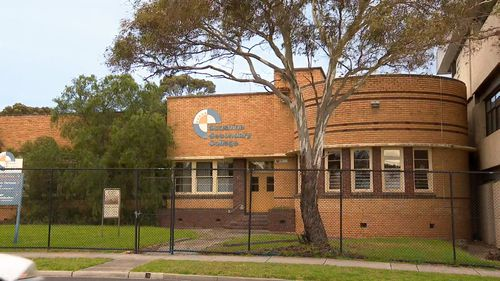 Grabski taught at Sunshine Secondary College in Melbourne's west. Picture: 9NEWS