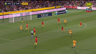 Kerr stuns China with Matildas double