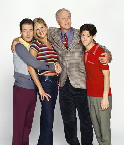 3rd Rock From The Sun, cast, French Stewart, Kristen Johnston, John Lithgow and Joseph Gordon-Levitt.