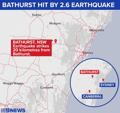 The earthquake struck about 5.39pm. (9NEWS)