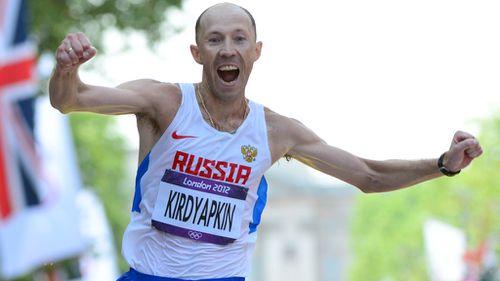 Sergey Kirdyapkin. (Getty)