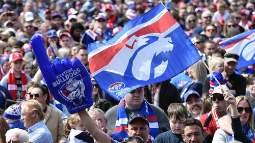 The Bulldogs last won a premiership in 1954, and their last Grand Final appearance was in 1961. (AAP)