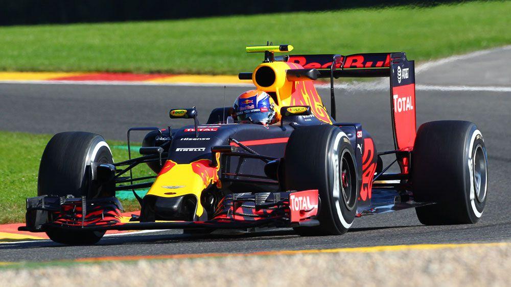 Red Bull driver Max Verstappen. (AAP)