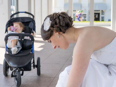 Bridesmaid furious after being told her toddler can't attend wedding
