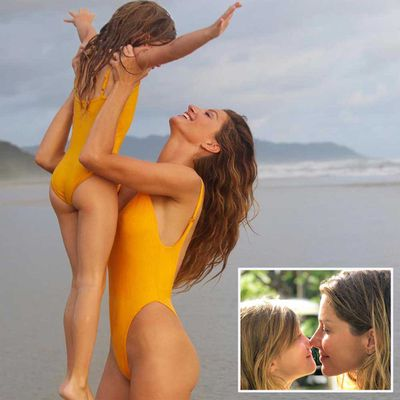 Gisele Bündchen and Vivian Lake Brady