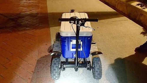 Perth man charged for DUI on motorised esky