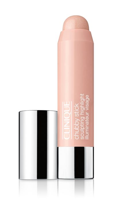 "<a href=""https://www.clinique.com.au/product/14346/34748/Makeup/Contouring/Chubby-Stick-Sculpting-Highlight"" target=""_blank"">Chubby Stick Sculpting Highlighter, $42, Clinique</a>"