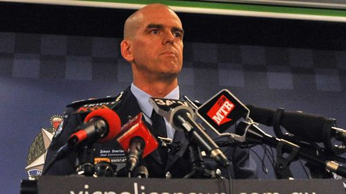 Former Victoria Police Commissioner Simon Overland. (AAP)