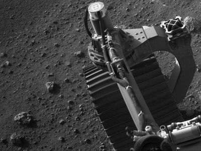 NASA reveal new photos from rover's exploration of Mars surface