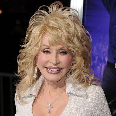 Dolly Parton at Grauman's Chinese Theatre on January 9, 2012 in Hollywood, California.