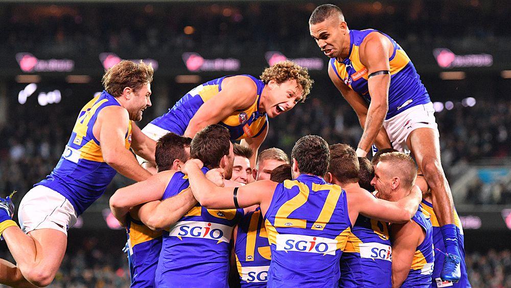 Shuey kicks West Coast to AFL finals win