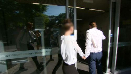 They have pleaded not guilty to failing to provide for a child and reckless grievous bodily harm. (9NEWS)