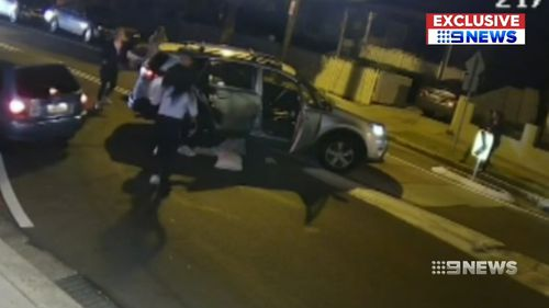 Police are appealing for witnesses after a shocking road rage attack in Sydney's west.