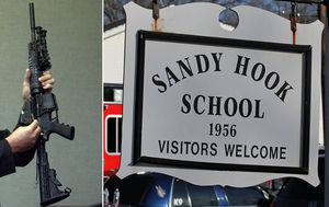 Families of Sandy Hook school shooting victims win right to sue gun manufacturer