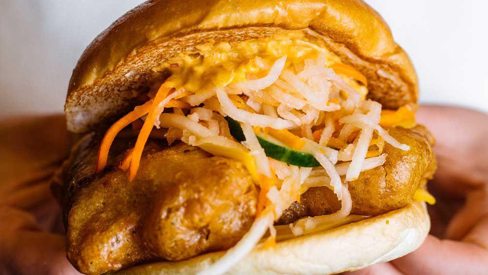 Gangnam burger