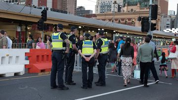 'Generally great behaviour' from Melbourne revellers