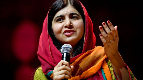 Nobel Peace Prize laureate Malala Yousafzai praises Me Too during Sydney speech