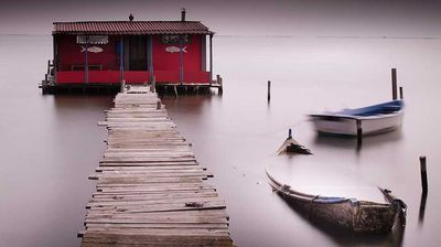 """Tranquility: """"The photo is taken in Greece, 30 km outside Thessaloniki town at Kalohori lagoon."""" Ilias Tabakis, 2nd place, Greece, National Award, 2015 Sony World Photography Awards."""