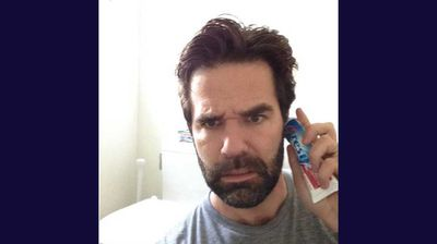 "US comedian Rob Delaney responded with: ""Hi guys, I'm on the line now too. Get me up to speed."" (@robdelaney)"