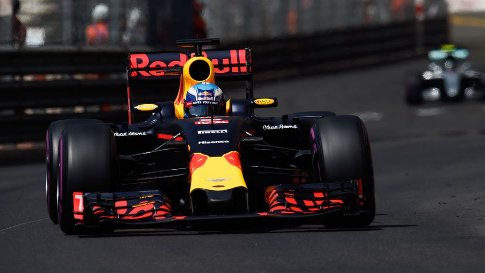 Ricciardo takes pole position at Monaco
