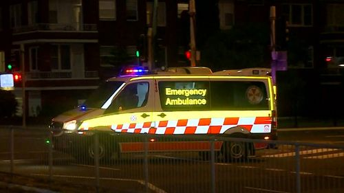 NSW Ambulance paramedics took one man in his thirties to St George Hospital in a stable condition.