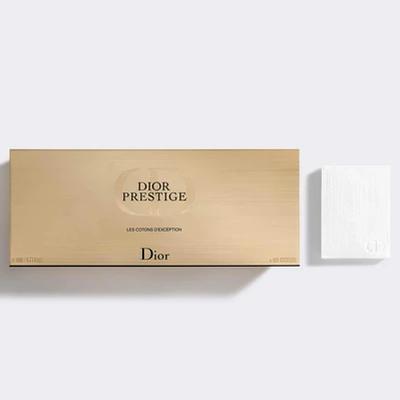 The Dior Prestige cotton pads: $25