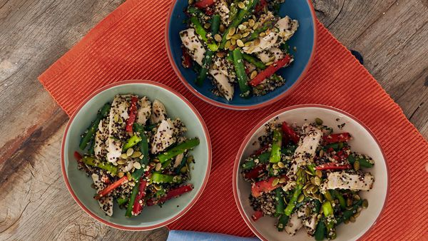 Zoe Bingley Pullins Chicken Quinoa Salad With Orange Vinaigrette