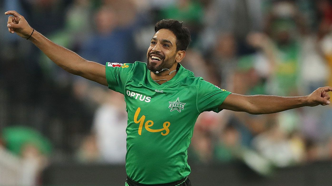 Rauf's hat-trick inspires Stars to BBL win