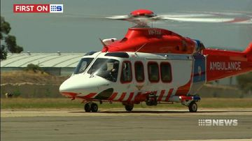 VIDEO: Shared Victorian police and ambulance chopper takes its final flight
