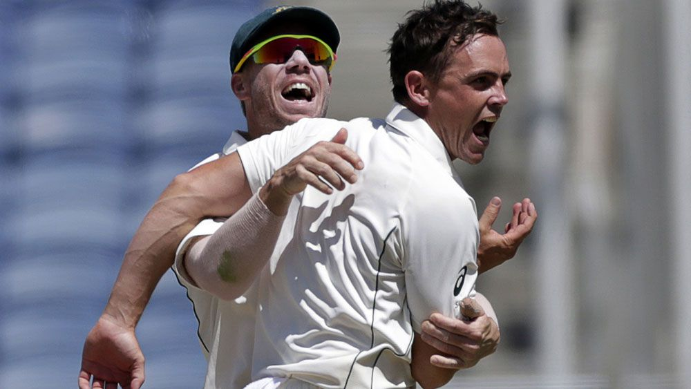 O'Keefe the hero as Australia bowl India out for 105 in first Test
