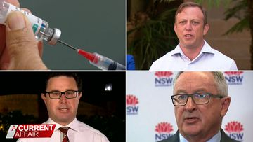 Federal and state governments in war of words over vaccines