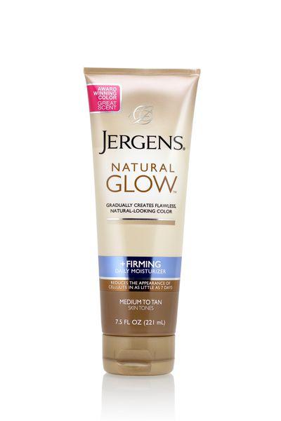 JERGENS Natural Glow + Firming Daily Moisturiser, $14.99.
