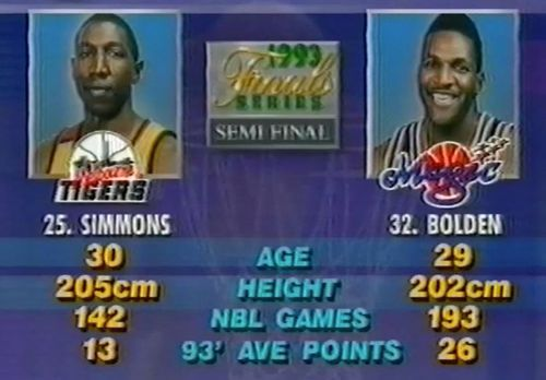 Dave Simmons and Bruce Bolden have a history.