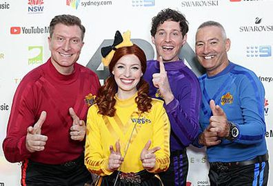 The Wiggles at red carpet event (Getty)
