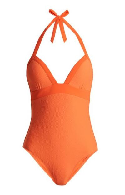 """<a href=""""http://www.matchesfashion.com/au/products/Heidi-Klein-Havana-underwired-halterneck-swimsuit-1180643"""" target=""""_blank"""">Havana Underwired Halterneck Swimsuit by Heidi Klein, $285.</a>"""
