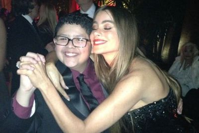 Get this drunk woman off me! <br/><br/>Image: Sofia Vergara/WhoSay