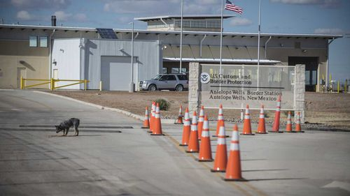 The Antelope Wells port of entry.