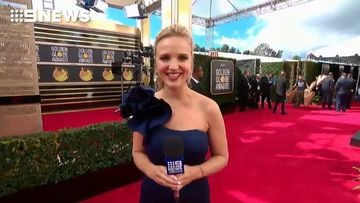 9News US correspondent Alexis Daish is on the red carpet at the Beverly Hilton,  behind the scenes of one of Hollywood's biggest events.