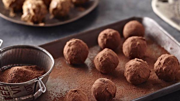 Praline truffles