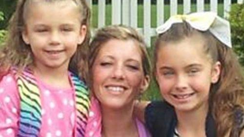 Judy Malinowski and her two children.