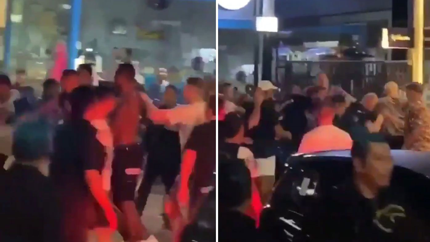 NRL star Nelson Asofa-Solomona in wild Bali street brawl, new footage emerges