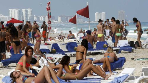 Cancun is known as a spring break destination, but 547 people were murdered there last year.