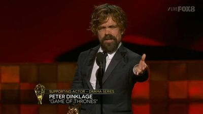 <p><strong>Supporting Actor, Drama</strong></p><p>Peter Dinklage, <em>Game of Thrones</em></p>