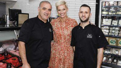 Jessica Rowe at Barbaro Brothers butchers
